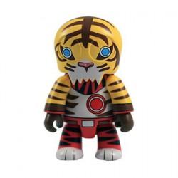 Qee Designer série 4 UK Tiger Toyer (Rare)