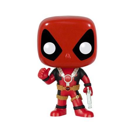 Figur Pop Marvel Deadpool Thumb Up Funko Geneva Store Switzerland