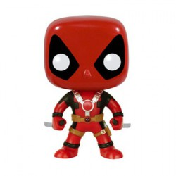 Figurine Pop Marvel Deadpool Two Swords Funko Boutique Geneve Suisse