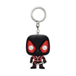 Pop Pocket Keychains Marvel Black Deadpool