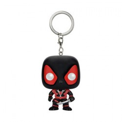 Figurine Pop Pocket Porte-clés Marvel Deadpool Noir Funko Figurines Pop! Geneve