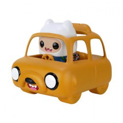 Figurine Pop Rides Adventure Time Jake Car avec Finn Funko Boutique Geneve Suisse