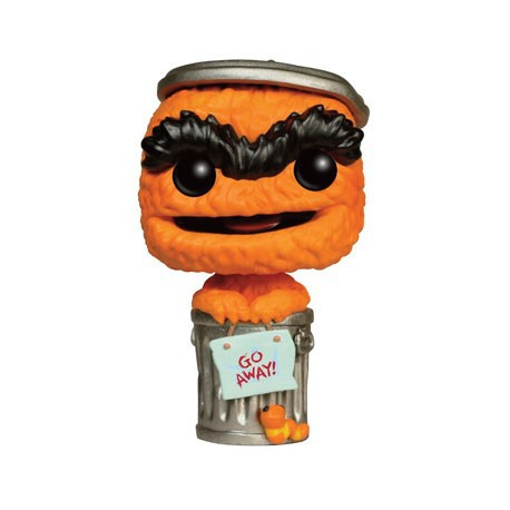 Figurine Pop TV Sesame Street Orange Oscar Edition Limitée Funko Boutique Geneve Suisse