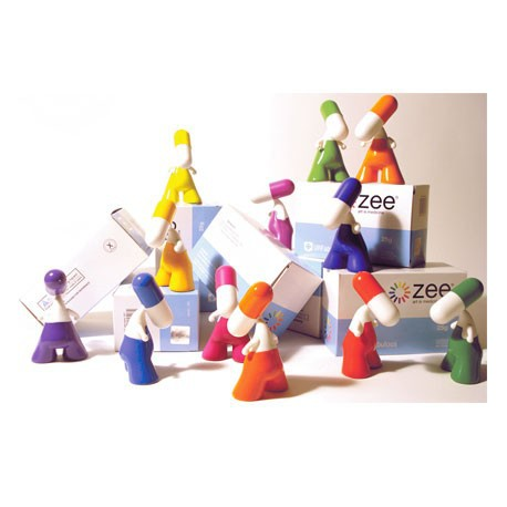 Figurine Présentoir ZEE série 001 (20 pcs) par PIX Urfabulous Boutique Geneve Suisse
