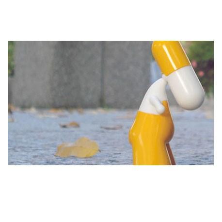 Figur ZEE série 001 02 Orange clair by PIX Urfabulous Zee Geneva