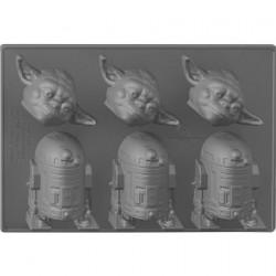 Eiswürfel Star Wars Yoda & R2-D2