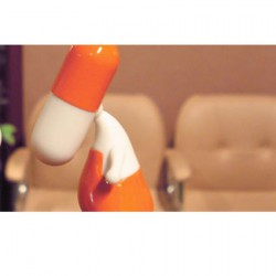 Figurine ZEE série 001 04 Orange foncé par PIX Urfabulous Boutique Geneve Suisse