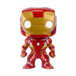 Figurine Pop Marvel Captain America Civil War Iron Man (Vaulted) Funko Boutique Geneve Suisse