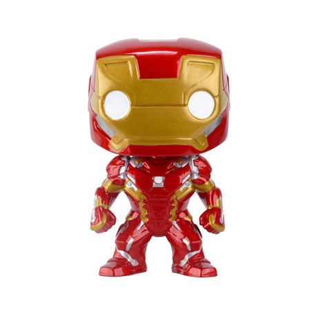 Figur Pop Marvel Captain America Civil War Iron Man (Vaulted) Funko Geneva Store Switzerland