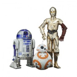Kotobukiya Star Wars C-3PO & R2-D2 avec BB-8