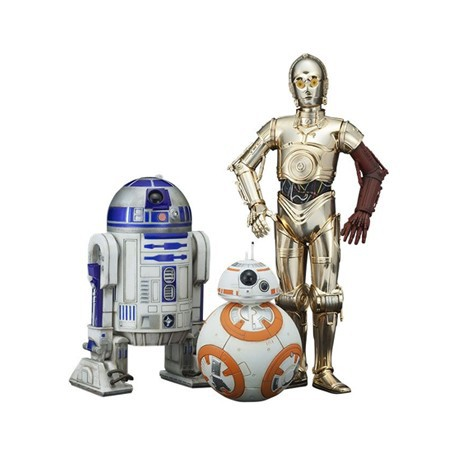Figur Kotobukiya Star Wars C-3PO & R2-D2 with BB-8 Kotobukiya Toys and Accessories Geneva