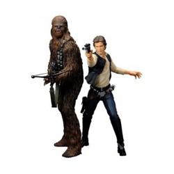 Kotobukiya Star Wars Han Solo and Chewbacca