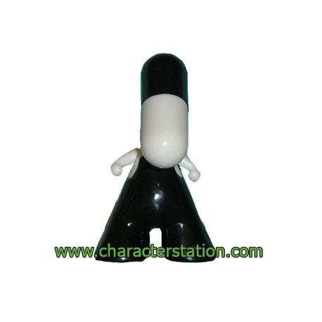 Figurine Zee Secret Noir par PIX Urfabulous Boutique Geneve Suisse