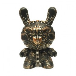 Figuren It's a F.A.D. Dunny Bronze Color 20 cm von J*RYU Kidrobot Genf Shop Schweiz