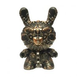 Figurine It's a F.A.D. Dunny Couleur Bronze 20 cm par J*RYU Kidrobot Designer Toys Geneve