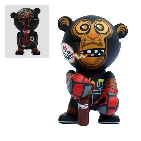 Figurine Trexi série Coca Cola par Winson Ma Play Imaginative Boutique Geneve Suisse