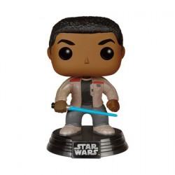 Pop Film Star Wars The Force Awakens Finn with Lightsaber