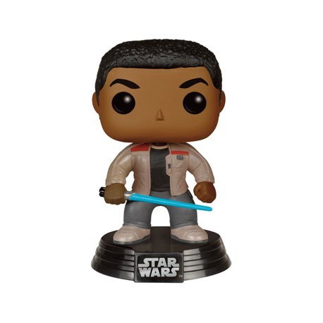 Figurine Pop Star Wars The Force Awakens Finn with Lightsaber Funko Boutique Geneve Suisse