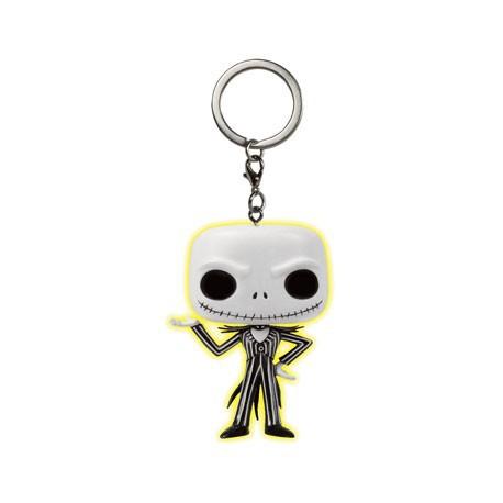 Figurine Pop Pocket Keychains Jack Skellington Phosphorescent Funko Boutique Geneve Suisse