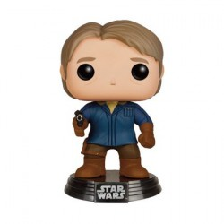 Pop Star Wars The Force Awakens Han Solo in Snow Gear Edition Limitée
