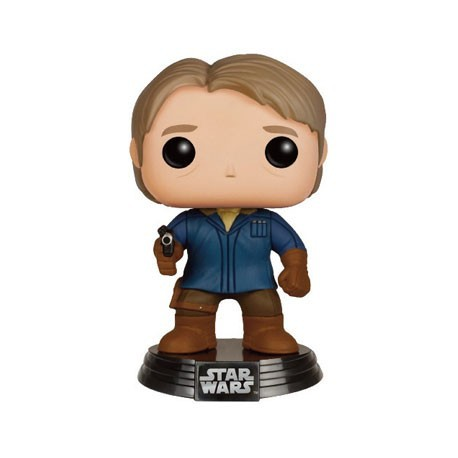 Figurine Pop Star Wars The Force Awakens Han Solo in Snow Gear Edition Limitée Funko Boutique Geneve Suisse
