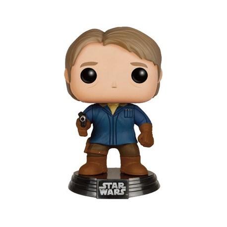 Figurine Pop Star Wars The Force Awakens Han Solo in Snow Gear Limité Funko Boutique Geneve Suisse