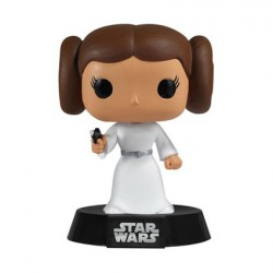 Figurine Pop Star Wars Princesse Leia (Boite bleu Rare) Funko Boutique Geneve Suisse