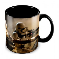 Star Wars The Force Awakens Stormtroopers Battle Ceramic Mug
