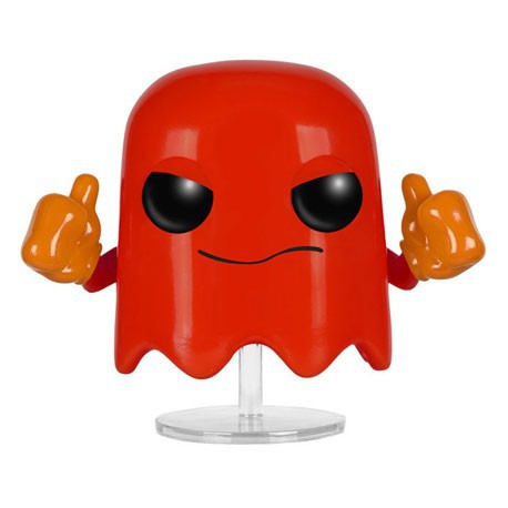 Figuren Pop Games Pac Man Blinky Funko Genf Shop Schweiz