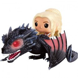 Figuren Pop Game of Thrones Daenerys und Drogon Funko Genf Shop Schweiz