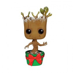 Figurine Pop Marvel GotG Snowy Metallic Holiday Groot édition limitée Funko Boutique Geneve Suisse