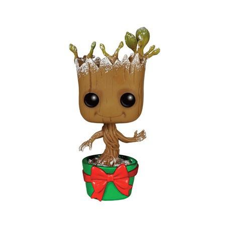 Figur Pop Marvel Guardians of the Galaxy Snowy Metallic Holiday Dancing Groot Limited Edition Funko Geneva Store Switzerland