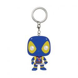 Figurine Pop Pocket Porte-clés Marvel Deadpool Blue X-Men Suit Funko Boutique Geneve Suisse