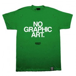 Figurine No Graphic Art Vert Boutique Geneve Suisse