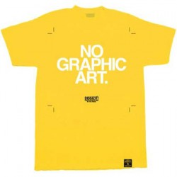 No Graphic Art Jaune