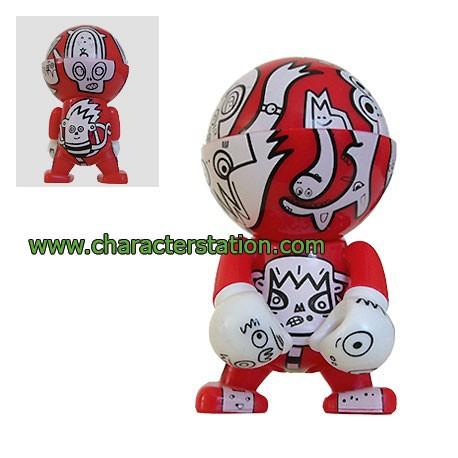 Figurine Trexi Série 2 par Jon Burgerman Play Imaginative Boutique Geneve Suisse
