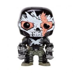Figurine Pop Marvel Civil War Crossbones Battle Damage Edition Limitée Funko Boutique Geneve Suisse