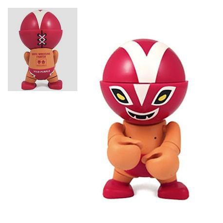 Figur Trexi Mad Purple by Devilrobots Play Imaginative Designer Toys Geneva