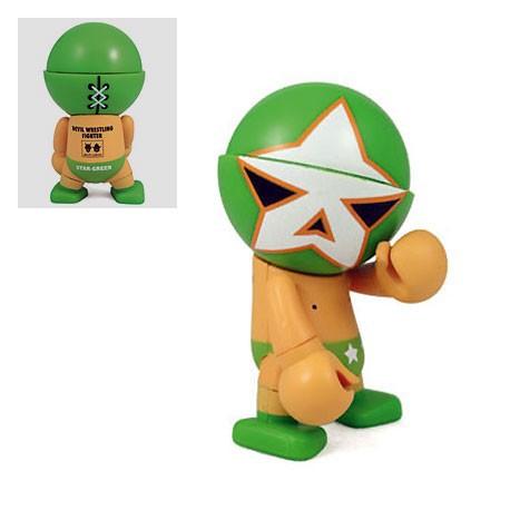 Figur Trexi Star Green by Devilrobots Play Imaginative Designer Toys Geneva