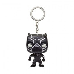 Figuren Pocket Pop Schlüsselanhänger Captain America III Civil War Black Panther Funko Figuren Pop! Genf