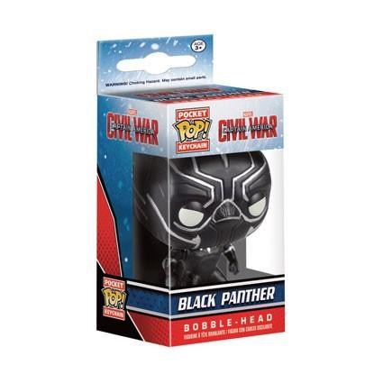 Key Chain Black Panther Figure NEW FUNKO Captain America Civil War Pocket Pop