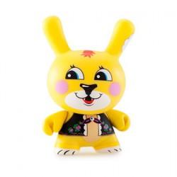 Figurine Kidrobot Dunny Misha Mishka par Mishka Kidrobot Designer Toys Geneve