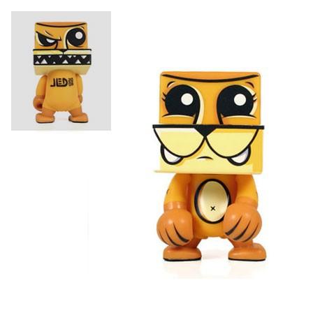 Figurine Restock Trexi Yellow Cat 4 faces par Joe Ledbetter Play Imaginative Boutique Geneve Suisse