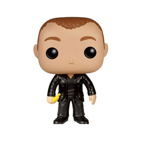 Figurine Pop Doctor Who Ninth Doctor With Banana Edition Limitée Funko Boutique Geneve Suisse