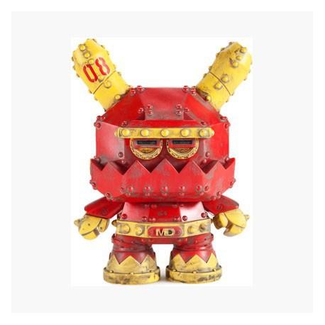 Figurine Kidrobot Mecha Stealth Dunny par Frank Kozik Kidrobot Boutique Geneve Suisse