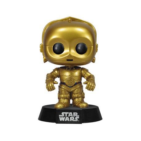 Figurine Pop Star Wars C-3PO (Rare) Funko Boutique Geneve Suisse