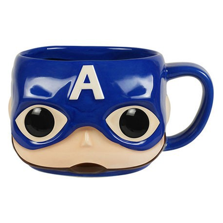 Figur Funko Pop Mug Marvel Captain America Funko Geneva Store Switzerland