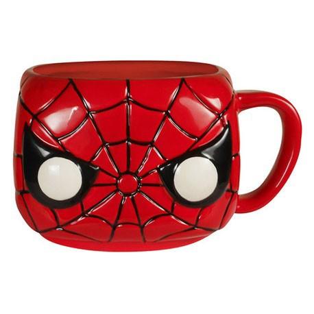 Figur Funko Pop Mug Marvel Spiderman Funko Geneva Store Switzerland