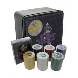 DC Comics The Joker Poker Set