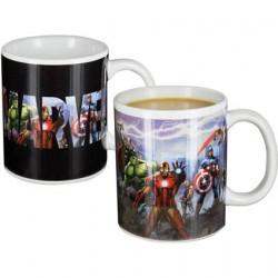 Tasse Marvel Avengers Change de Couleur avec la Chaleur